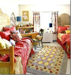 Boho dorm room dorm-room-ideas