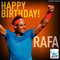 Happy birthday Rafa♥