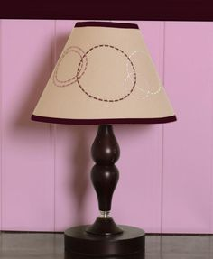 GEENNY Baby Girl Artist Lamp Shade