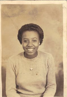 "African American woman, 1944. Woman and photographer unknown. This photo is for sale, $ 10.00, on ""ThingsFromMyPast"" Etsy Shop."
