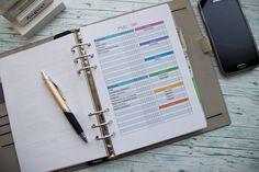 weniger Stress im Haushalt mit einem Putzplan