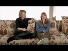 Lucy and Renee - Coffee Talk 6 (5/5)  © Creation Entertainment-renee discusses her childhood with an abusive stepfather