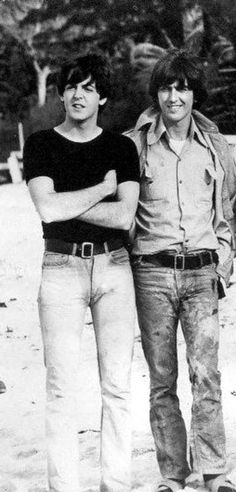 Paul and George---the epitome of style
