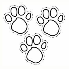 Blues Clues Paw Prints