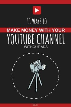 Do you have a fairly new channel and wonder how to monetize it? Here are the best 11 ways to earn money from #YouTube without Adsense. #youtubers #youtubechannel #videocontent #youtubevideo
