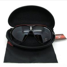 6f1f64d93f Fashion Men & Women's Retro Sunglasses Unisex Matte Frame Carrera Glasses  Box #fashion #clothing #shoes #accessories #mensaccessories ...