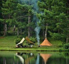 Brillantes Fotos De Los Humanos Y La Naturaleza En Armonía Acampar En El Bosque Nature Places To Go Beautiful World