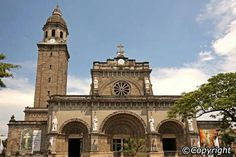 Manila Cathedral, Philippines - Built in 1571, this historic church is known for its ornate architecture & visits by several Popes.