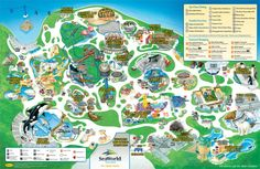 seaworld san diego 50th celebration interactive mapworld