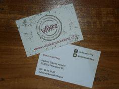 Visitekaartjes Winkz Marketing