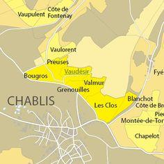 Chablis Map