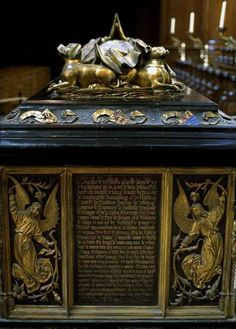 Tomb of Mary of Burgundy (1457-1482).