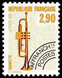 La trompette 2 F 90 - Timbre de 1989