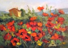 Poppies of Provence, painting by artist Pat Fiorello