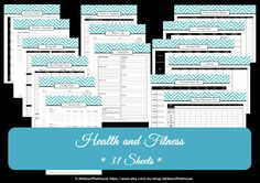 Awesome Weight Loss Binder Template!