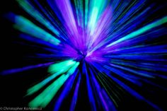 Awesome light painting with glow sticks!