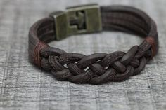 Men's Bracelet Genuine leather bracelet Men's от bycengizbulut