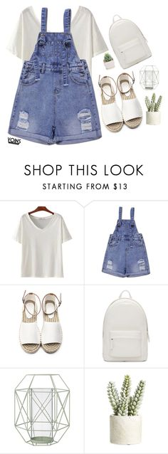 """#Yoins5"" by credentovideos ❤ liked on Polyvore featuring PB 0110, Bloomingville and Allstate Floral"