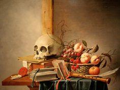 Vanitas Still Life by Harmen Steenwyck