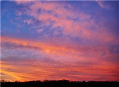 A SkyBlue Pink Morning Clouds, Sky, Celestial, Sunset, Pink, Outdoor, Backgrounds, Heaven, Outdoors