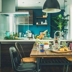 のカリフォルニアスタイル/ダイニング/キッチン/アメカジ/アメカジ工務店についてのインテリア実例を紹介。(この写真は 2016-09-03 14:27:05 に共有されました)