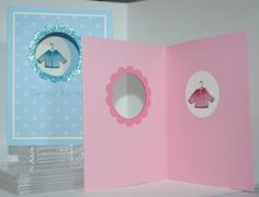 Inky Moose: Hand Knit baby cards