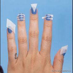 10 truques rápidos para fazer unhas decoradas: confira as fotos e descubra como economizar tempo para criar a nail art Nail Art Hacks, Nail Art Diy, Easy Nail Art, Nail Art Designs Videos, Simple Nail Art Designs, Shellac Nails, Diy Nails, Nail Polish, Stylish Nails