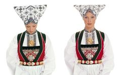 Hungarian folk costumes and textiles from Stefni Agin Collection Folk Costume, Costumes, Love S, Pin Cushions, Wearable Art, Norway, Cross Stitch Patterns, Beautiful People, Textiles