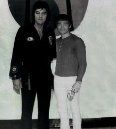 Elvis and Bruce Lee