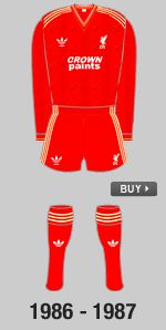 1986-1987  Follow this link to buy the shirt: http://store.liverpoolfc.tv/Double-Winners-86-Shirt/pid-29558