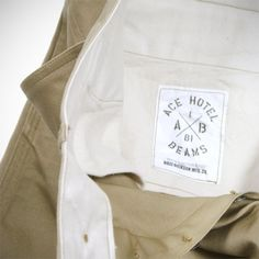 Beams x Ace x Buzz Rickson's Chino Pants Ace Hotel, Beams, Pants, Trouser Pants, Women's Pants, Women Pants, Trousers, Exposed Beams