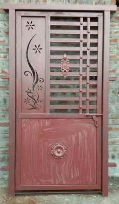 Modern Window Grill, Home Window Grill Design, Grill Gate Design, Balcony Grill Design, Front Gate Design, Main Gate Design, Door Gate Design, Room Door Design, Steel Grill Design