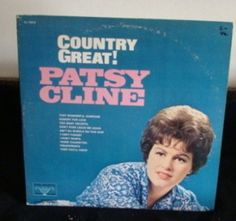 Patsy Cline Lp Country Greats Near Mint