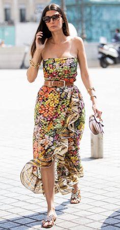 Street style, women's fashion, style Chic Outfits, Summer Outfits, Summer Dresses, Diy Fashion, Fashion Outfits, Womens Fashion, Couture Fashion, Style Fashion, Fashion Editor