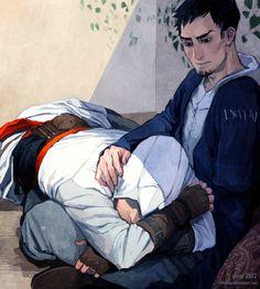 assassinscreedart:  slumber by littleulvar