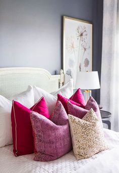 If sprucing up your neutral space with lively bursts of color is on your to-do list, try incorporating accessories in handsome hues into your home décor to subtly make a stunning statement.