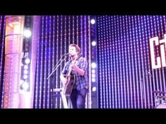 """Singer-Songwriter Lee DeWyze sings his own original """"Like I Do""""  at Universal City Walk, Hollywood, CA  - Saturday, April 6, 2013 - #5Towers Music Spotlight"""