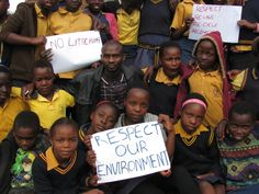 The recent Eco Club hosted by Godfrey Baloyi and Kenneth Makhubele at Pafuri emphasised the Importance of No Littering. Children were also required to remove litter from their school grounds and the area immediately adjacent to their schools.