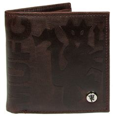 861f1323a7a MANCHESTER UNITED Embossed Brown Crest Wallet with Luxury Lining. Official  Licensed Manchester United wallet. Football Gifts Online
