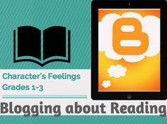 This GREAT lesson is perfect for 1st graders to write a blog post on character's feelings. The idea is that reader's take their sticky note and turn it into a blog post. This very engaging '4' page slideshow shows students how to go from a basic one word