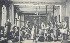 Timisoara - Sala de sport - Scoala de asistente medicale - 1912