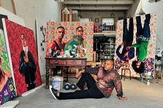 Love Kehinde Wiley & love this article on him.