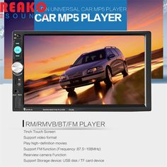 56.81$  Watch now - http://alit9t.shopchina.info/go.php?t=32741901287 - REAKOSOUND 7inch Touch Screen 2din Car Radio Stereo Built-in Bluetooth / AUX / SD / FM / USB MP5 Player With Remote Control 56.81$ #magazineonline