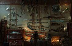 Sword, Bow, Shield