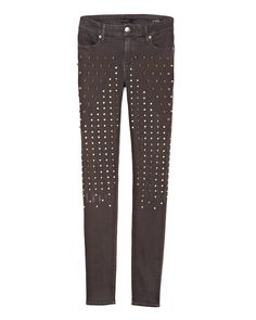 38 must-have denim pieces, including these Fidelity studded jeans #fashion #denim #Fidelity #jeans