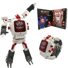 Robot Watch for Kids, Digital Deformed Electronic Robot Watch Toys for Boys, 2 in 1 Deformation Robot Wrist Watch Toys for 3, 4, 5 - 10 Years Old Boys or Girls ( White ) ** Details can be found by clicking on the image. (This is an affiliate link) Kids Electronics, 10 Year Old Boy, White Brand, Learning Toys, Old Boys, Toys For Boys, New Trends, Robot