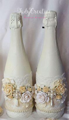 Купить или заказать Свадебные быки 'Шебби- Шик' в интернет-магазине на Ярмарке Мастеров. Свадебные быки в стиле 'Шебби- Шик' Стоимость указана за оформление двух бутылок, напиток считается отдельно. Покупая свадебные аксессуары набором- вы экономите( подробности в моем…