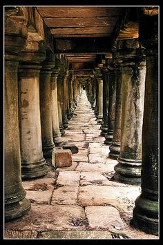 Temple of Angkor, Cambodia
