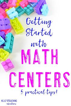 Does getting started with math centers overwhelm you? No worries! With the five steps outlined in this blog post, you'll be ready to start them with just a little work on your end. These tips work in ANY elementary classroom, so if you're a Kindergarten,