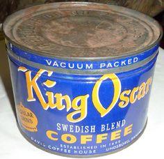 King Oscar 1 pound tin